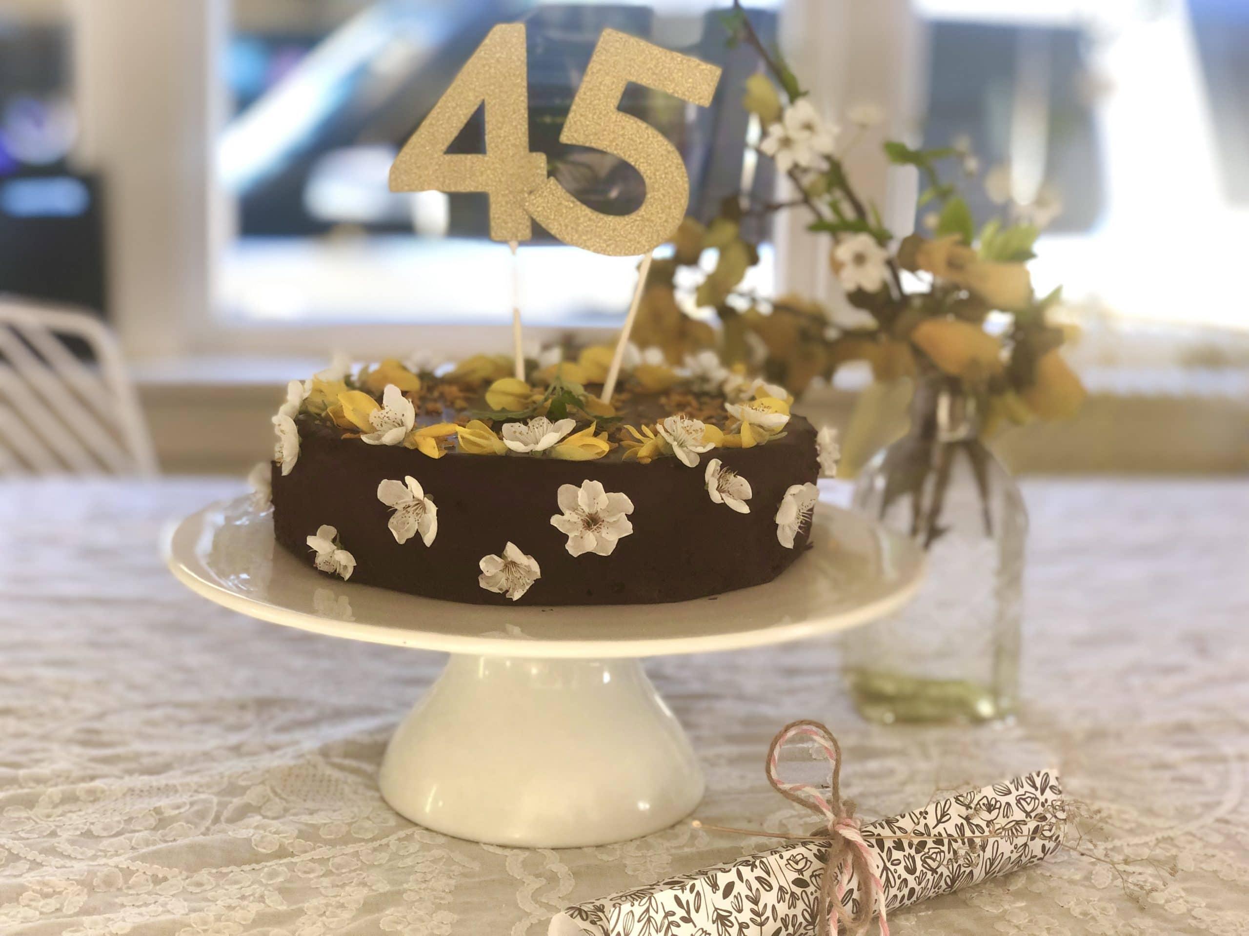Flourless Dark Chocolate Almond Orange Cake